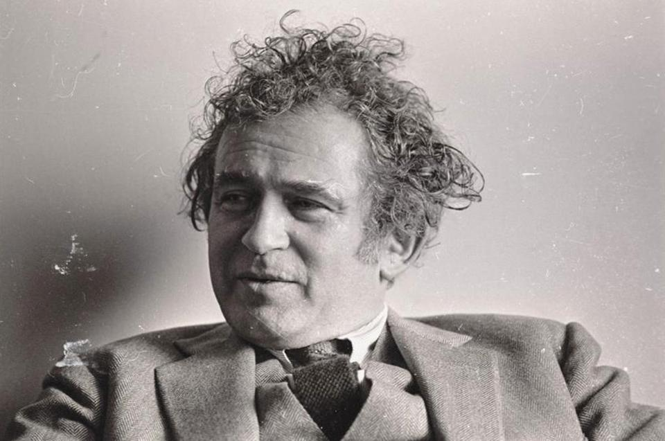 Norman Mailer in 1969, the year he ran for mayor of New York.